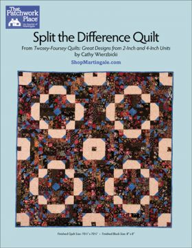 Martingale - Split the Difference Quilt ePattern