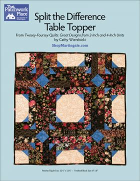 Martingale - Split the Difference Table Topper ePattern