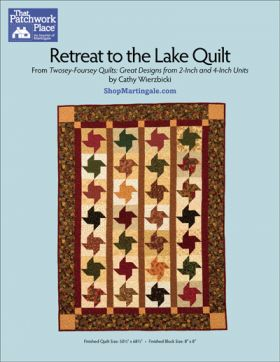 Martingale - Retreat to the Lake Quilt ePattern