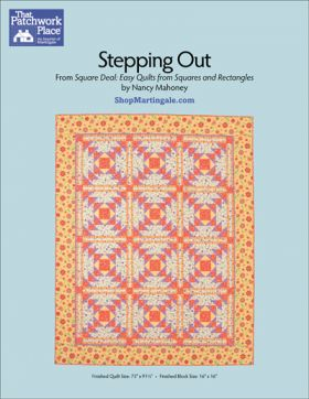 Martingale - Stepping Out Quilt ePattern