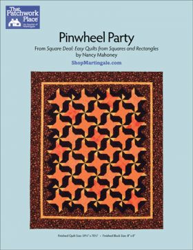 Martingale - Pinwheel Party Quilt ePattern