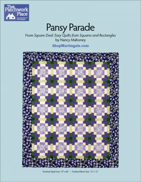 Martingale - Pansy Parade Quilt ePattern