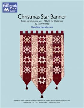 Martingale - Christmas Star Banner ePattern