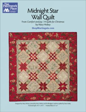 Martingale - Midnight Star Wall Quilt ePattern