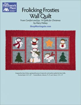 Martingale - Frolicking Frosties Wall Quilt ePattern