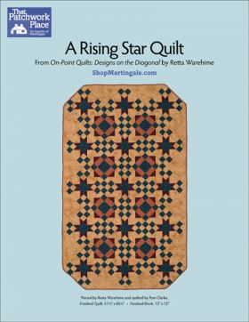 Martingale - A Rising Star Quilt ePattern