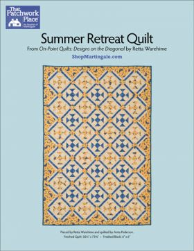 Martingale - Summer Retreat Quilt ePattern