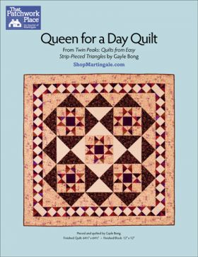 Martingale - Queen for a Day Quilt ePattern