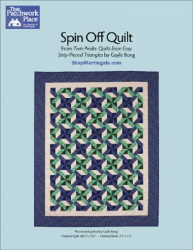 Martingale - Spin Off Quilt ePattern