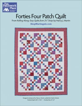 Martingale - Forties Four Patch Quilt ePattern