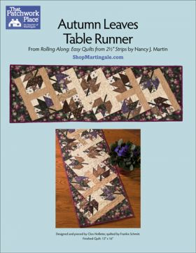 Martingale - Autumn Leaves Table Runner ePattern