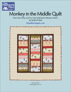 Martingale - Monkey in the Middle Quilt ePattern