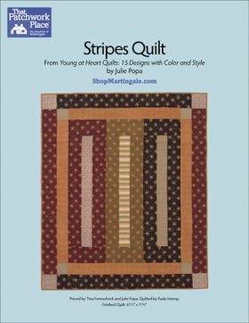 Martingale - Stripes Quilt ePattern
