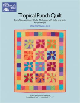 Martingale - Tropical Punch Quilt ePattern