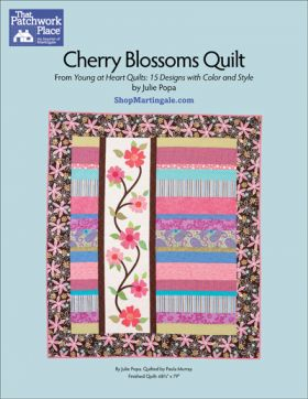 Martingale - Cherry Blossoms Quilt ePattern