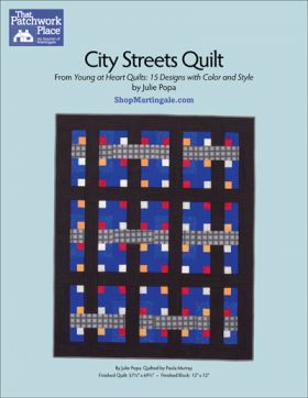 Martingale - City Streets Quilt ePattern