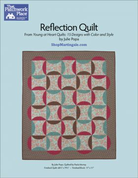 Martingale - Reflection Quilt ePattern