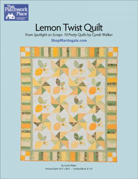 Martingale - Lemon Twist Quilt ePattern