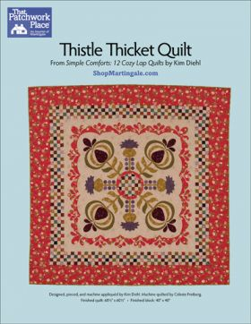 Martingale - Thistle Thicket Quilt ePattern