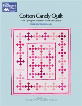 Martingale - Cotton Candy Quilt ePattern