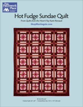 Martingale - Hot Fudge Sundae Quilt ePattern