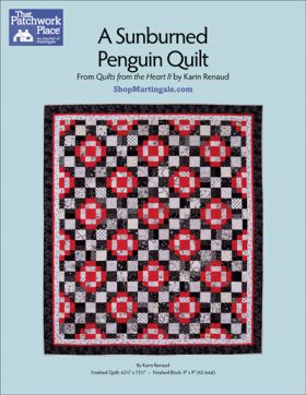 Martingale - A Sunburned Penguin Quilt ePattern