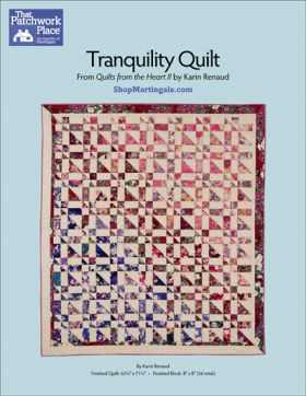Martingale - Tranquilty Quilt ePattern