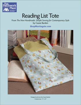 Martingale - Reading List Tote ePattern