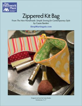 Martingale - Zippered Kit Bag ePattern