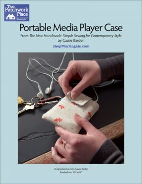 Martingale - Portable Media Player Case ePattern