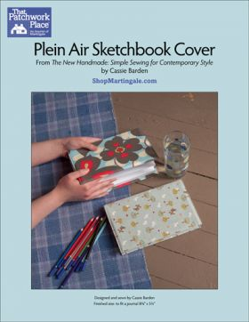 Martingale - Plein Air Sketchbook Cover ePattern