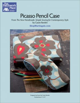 Martingale - Picasso Pencil Case ePattern