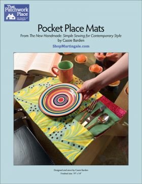 Martingale - Pocket Place Mats ePattern