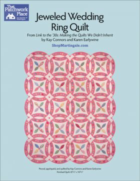 Martingale - Jeweled Wedding Ring Quilt ePattern