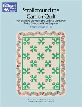 Martingale - Stroll Around the Garden Quilt ePattern