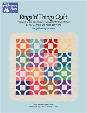 Martingale - Rings 'N' Things Quilt ePattern