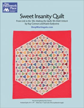 Martingale - Sweet Insanity Quilt ePattern