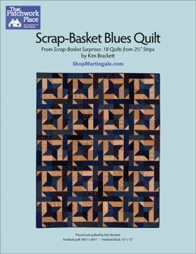 Martingale - Scrap Basket Blues Quilt ePattern