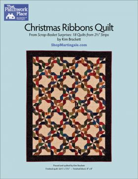 Martingale - Christmas Ribbons Quilt ePattern
