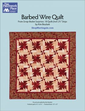 Martingale - Barbed Wire Quilt ePattern