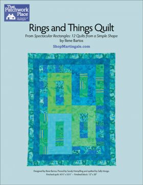 Martingale - Rings and Things Quilts ePattern