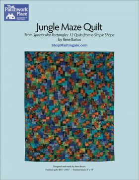 Martingale - Jungle Maze Quilt ePattern
