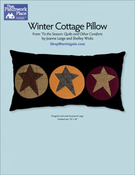 Martingale - Winter Cottage Pillow ePattern