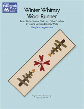 Martingale - Winter Whimsy Wool Runner ePattern