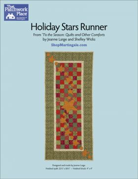 Martingale - Holiday Stars Runner ePattern