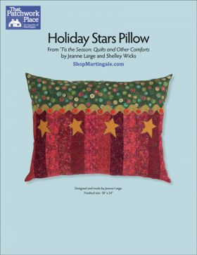 Martingale - Holiday Stars Pillow ePattern