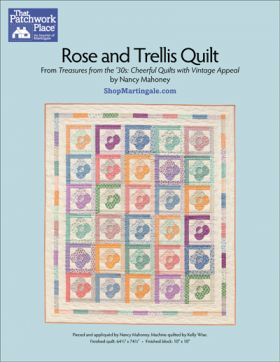 Martingale - Rose and Trellis Quilt ePattern