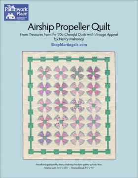 Martingale - Airship Propeller Quilt ePattern