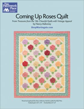 Martingale - Coming Up Roses Quilt ePattern