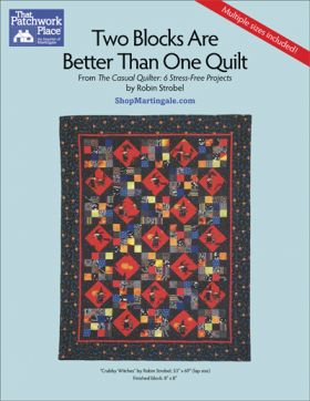 Martingale - Two Blocks Are Better Than One Quilt ePattern